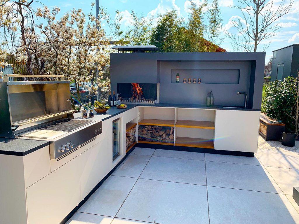 Пример фото летней кухни